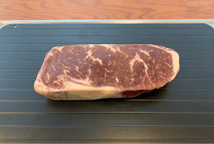 ThawTable - Defrosting Food Reimagined - Best Defrosting Tray And Kitchen Accessory Of 2021 - 45 Day Dry Aged Steak Defrosting - Best Way To Defrost A Nice Steak