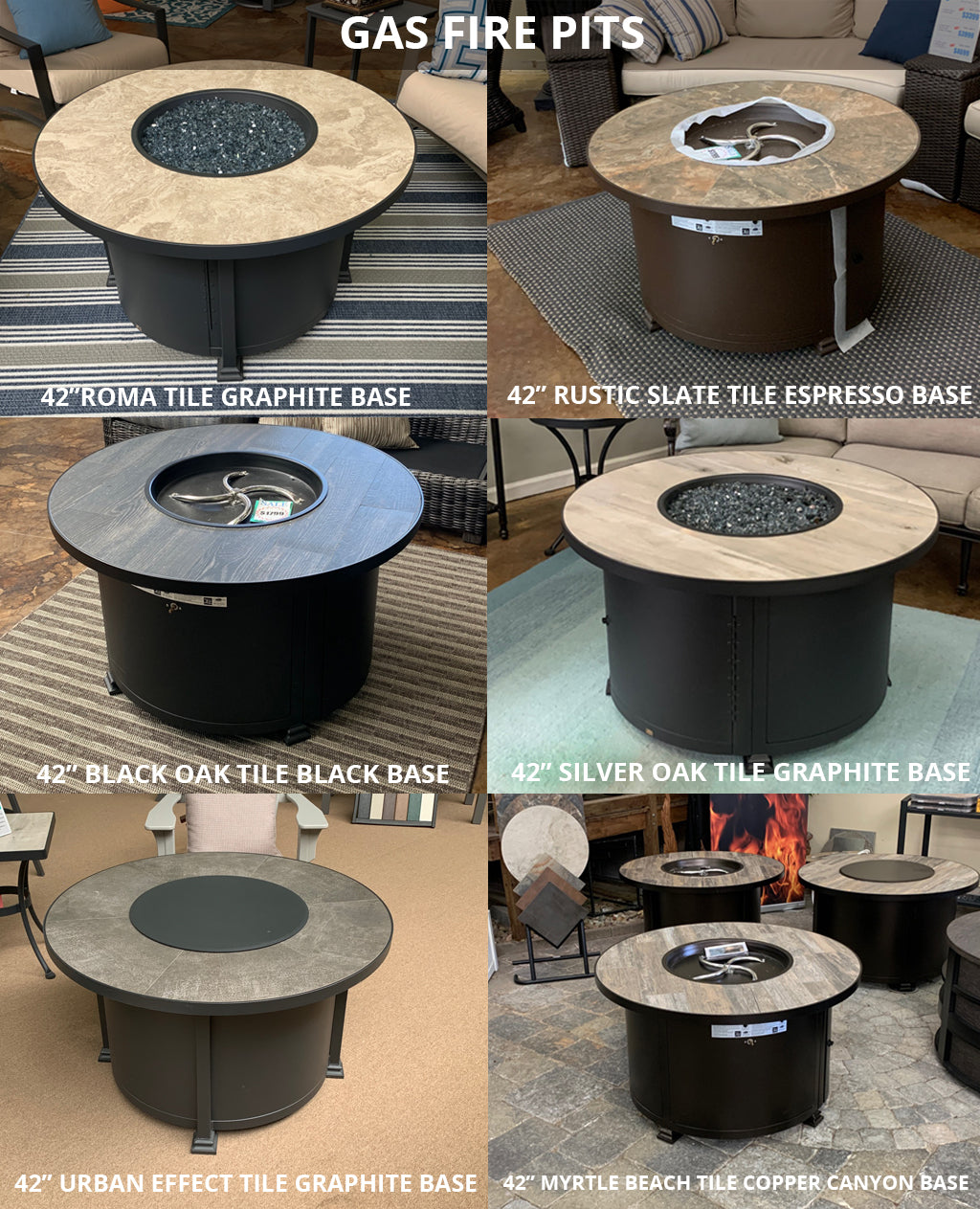 IN STOCK FIRE PITS