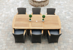 Royal Teak Helena 7 Piece Dining Group