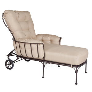 OW Lee Monterra Chaise Lounge with Wheels