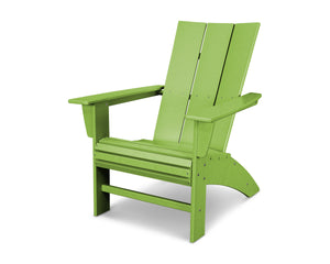 POLYWOOD® Modern Curveback Adirondack Chair in Vibrant Colors