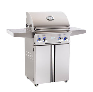 "AOG L Series 24"" Grill w/ Rotisserie and Side Burner"
