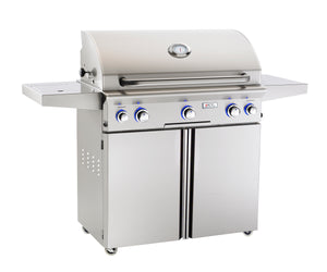 "AOG L Series 36"" Grill w/ Rotisserie and Side Burner"