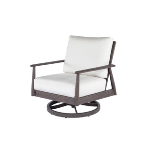 Ebel Augusta Club Swivel Rocker in Chestnut