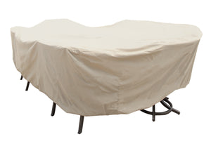 Large Oval/Rectangle Table & Chairs Cover