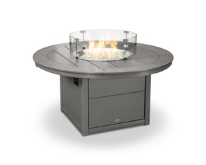 "POLYWOOD® Round 48"" Fire Pit Table"