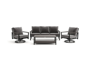 Winston Echo 4pc Seating Group with Rockers