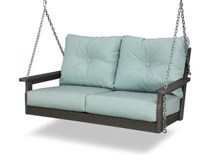 POLYWOOD® Vineyard Deep Seating Swing in Vintage