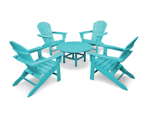POLYWOOD® South Beach 5-Piece Conversation Group in Vibrant Colors