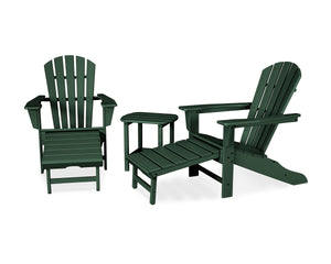 POLYWOOD® South Beach Ultimate Adirondack 3-Piece Set