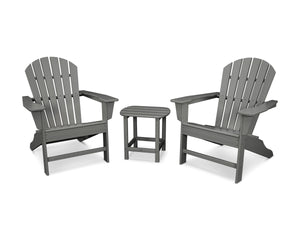 POLYWOOD® South Beach Adirondack 3-Piece Set