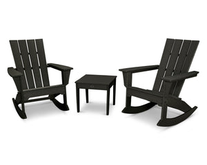 POLYWOOD® Quattro 3-Piece Rocker Set