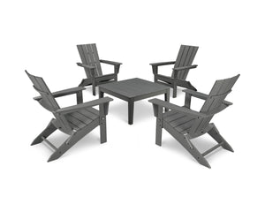 POLYWOOD® Quattro 5-Piece Conversation Set
