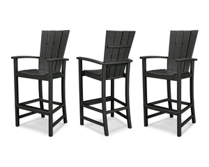 POLYWOOD® Quattro 3-Piece Bar Set