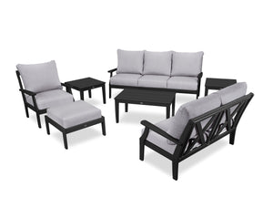 POLYWOOD® Braxton 7-Piece Deep Seating Set