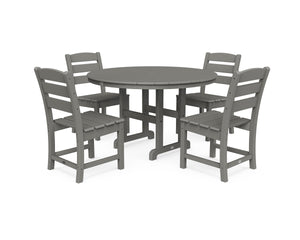 POLYWOOD® Lakeside 5-Piece Side Chair Dining Set