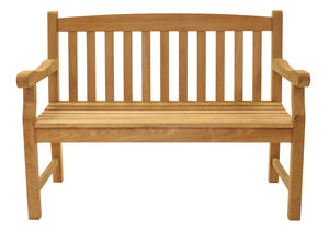 Royal Teak Classic 2-Seater Bench