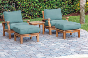 Royal Teak Miami Club Chair Group