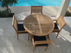 Royal Teak Avant 5 Piece Dining Group