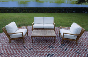 Royal Teak Coastal 4-Piece Deep Seating Collection