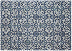 Meridian Outdoor Rug - Steel Blue