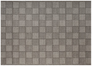 Tile Outdoor Rug - Fog
