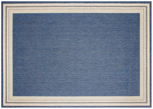 Garden Cottage Outdoor Rug - Blueberry