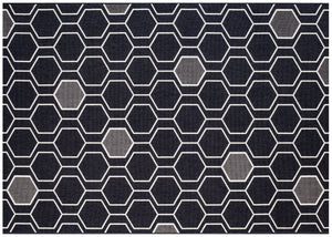 Geo Outdoor Rug - Black