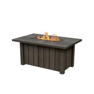 Ebel Trevi Rectangle Fire Pit