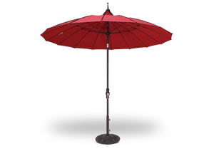 Treasure Garden Pagoda 9ft Collar Tilt Umbrella