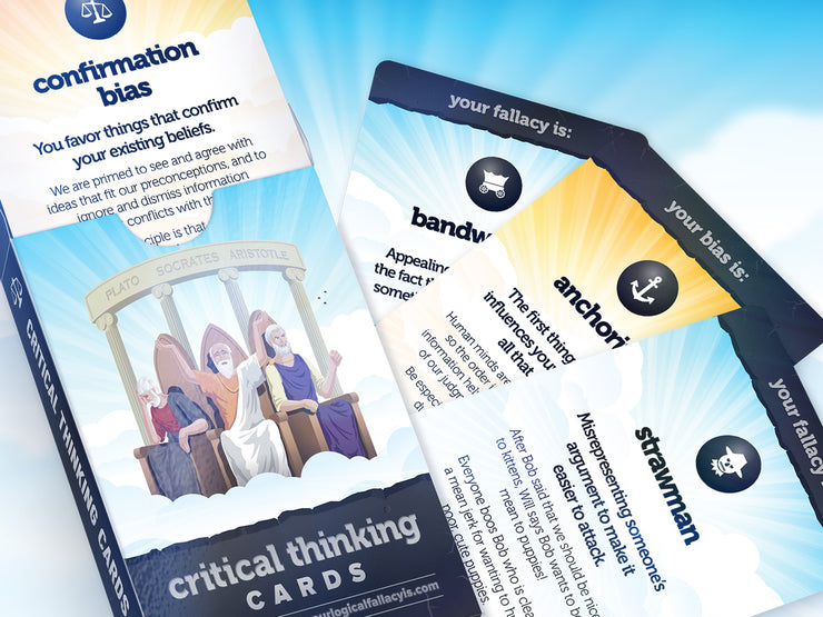 Critical Thinking Cards Deck