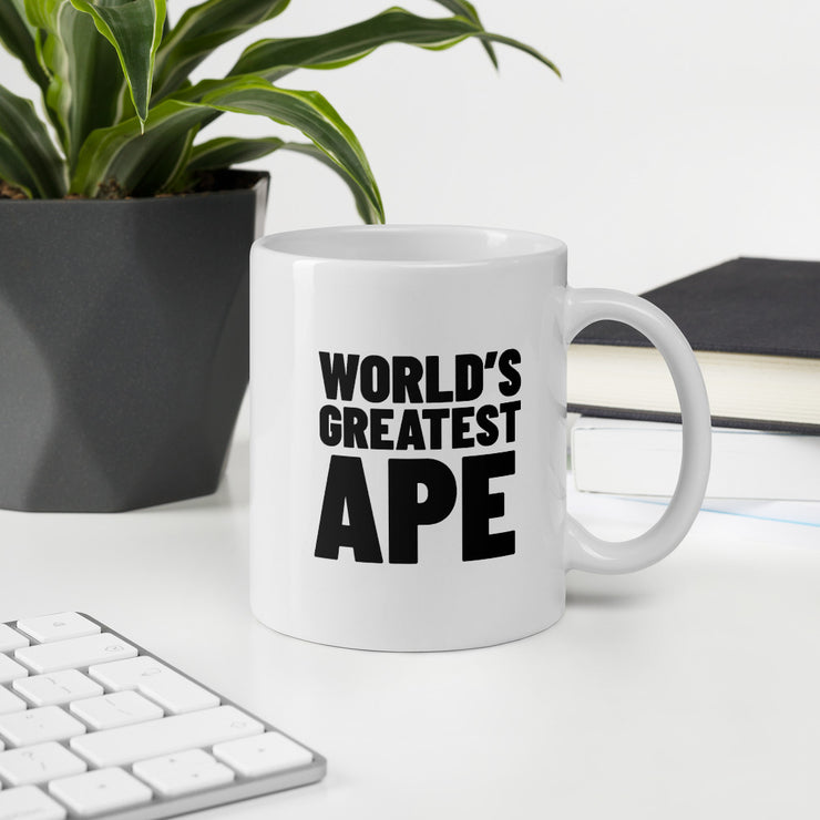 World's Greatest Ape Mug