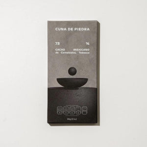 Cuna de Piedra Comalcalco, Tabasco Mexican Cacao Dark Chocolate Bar 73%