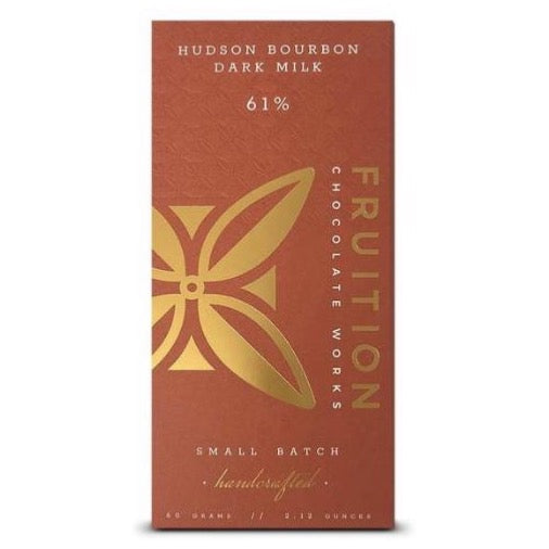 Fruition Hudson Bourbon Dark Milk 61% Chocolate Bar
