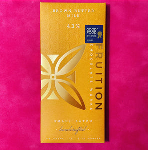 Fruition Brown Butter Milk Chocolate Bar - Barometer Chocolate