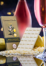 Load image into Gallery viewer, Castronovo White Chocolate With Lemon Oil & Lemon Sea Salt - Barometer Chocolate