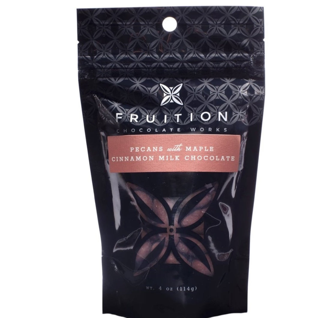 Fruition Pecans with Maple Cinnamon Milk Chocolate