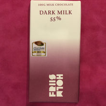 Load image into Gallery viewer, Friis Holm Dark Milk Chocolate Bar - Barometer Chocolate