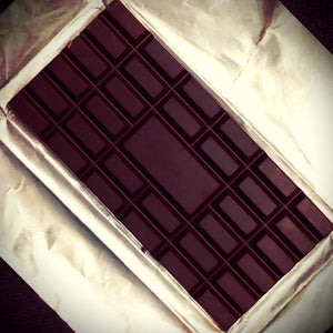 Friis Holm Chuno Triple Turned Dark Chocolate Bar - Barometer Chocolate