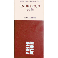 Load image into Gallery viewer, Friis Holm Indio Rojo Dark Chocolate Bar - Barometer Chocolate