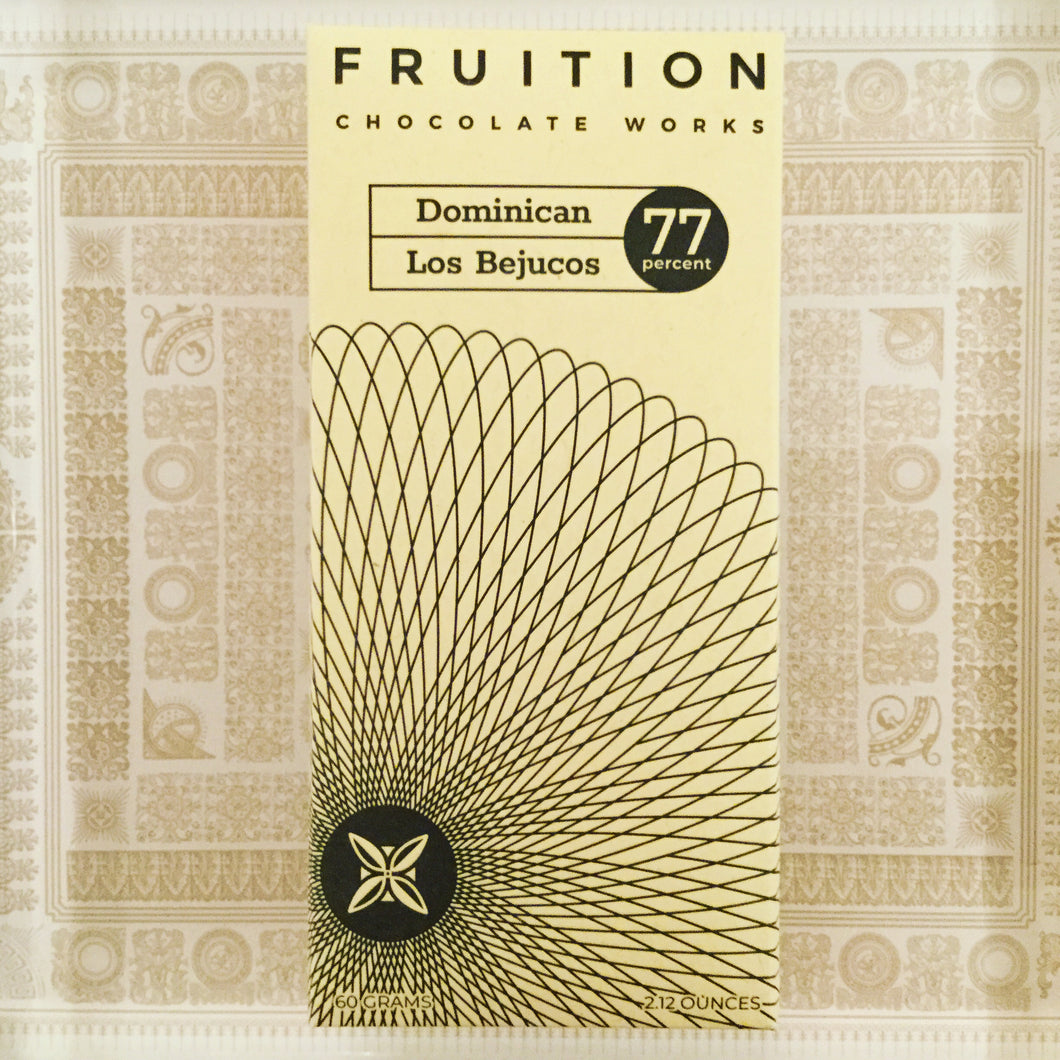Fruition Dominican Los Bejucos Dark Chocolate Bar - Barometer Chocolate
