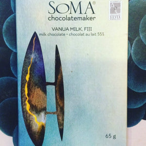 Soma Chocolatemaker Vanua Milk Chocolate, Fiji - Barometer Chocolate