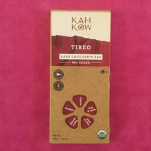 Load image into Gallery viewer, KahKow Tireo Dark Chocolate Bar - Barometer Chocolate