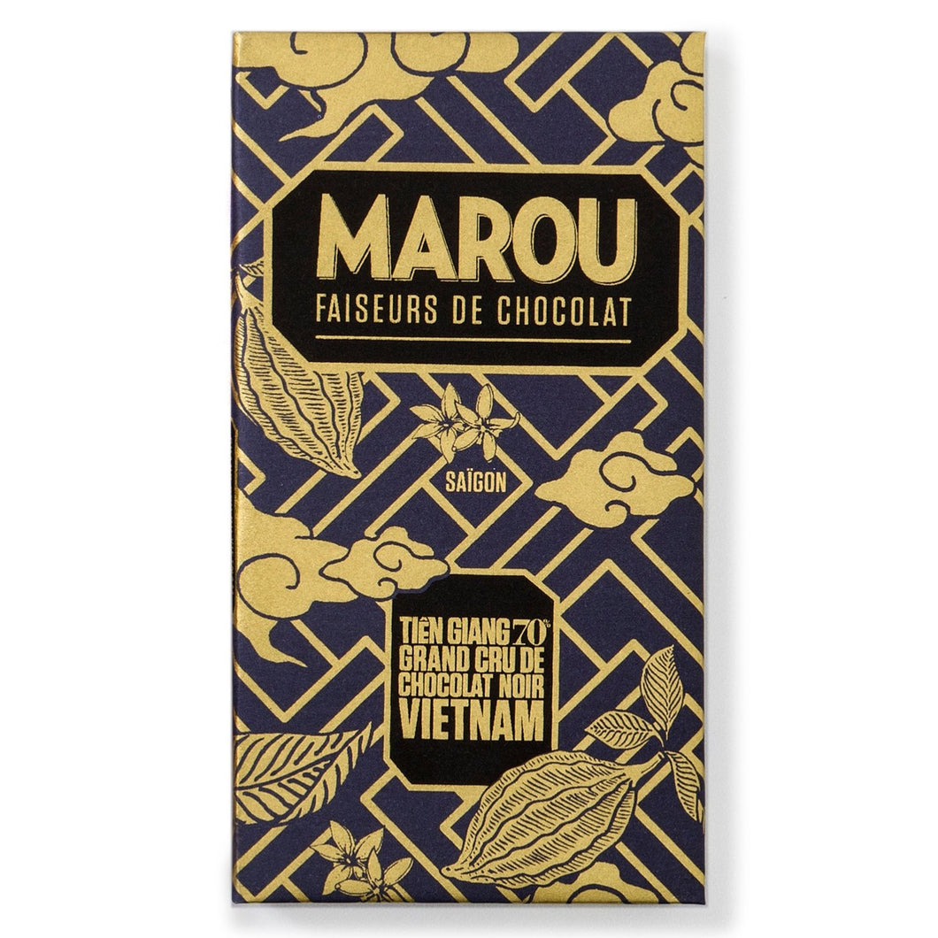Marou Tien Giang Dark Chocolate Mini Bar - Barometer Chocolate
