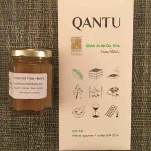 Bar & Jar: The Honey-do List! (Qantu Pérou Gran Blanco 70% Dark Chocolate Bar) - Barometer Chocolate