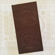 Load image into Gallery viewer, Letterpress Ucayali Private Reserve Dark Chocolate Bar - Barometer Chocolate
