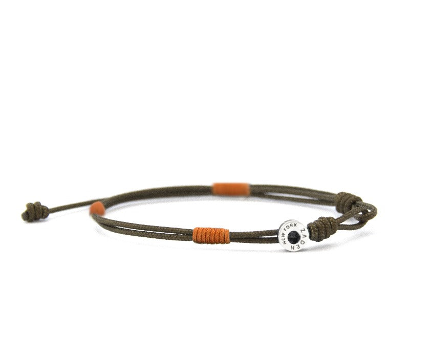 "Cayenne Bracelets Zadeh NY 5"" Brown/Orange"