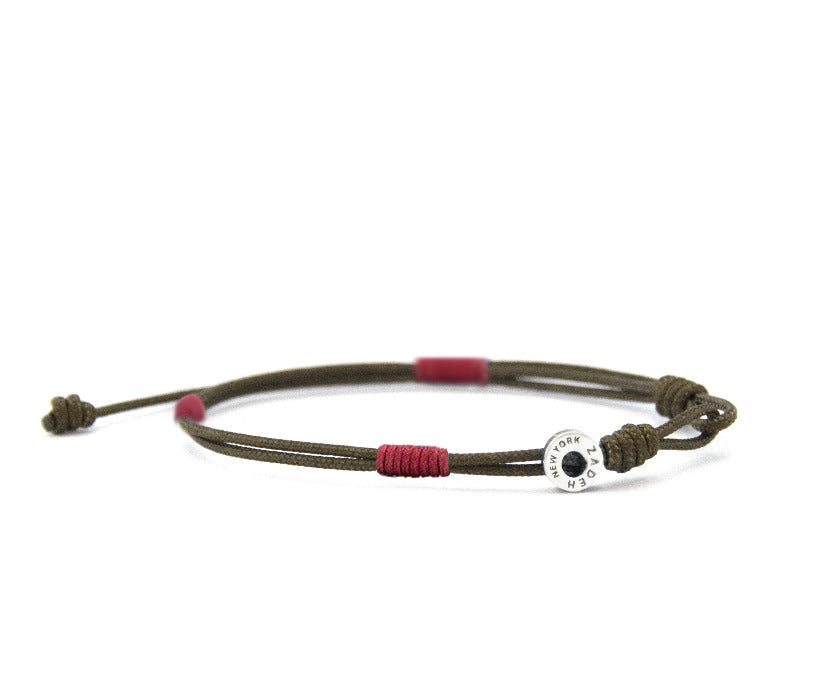 "Cayenne Bracelets Zadeh NY 5"" Brown/red"