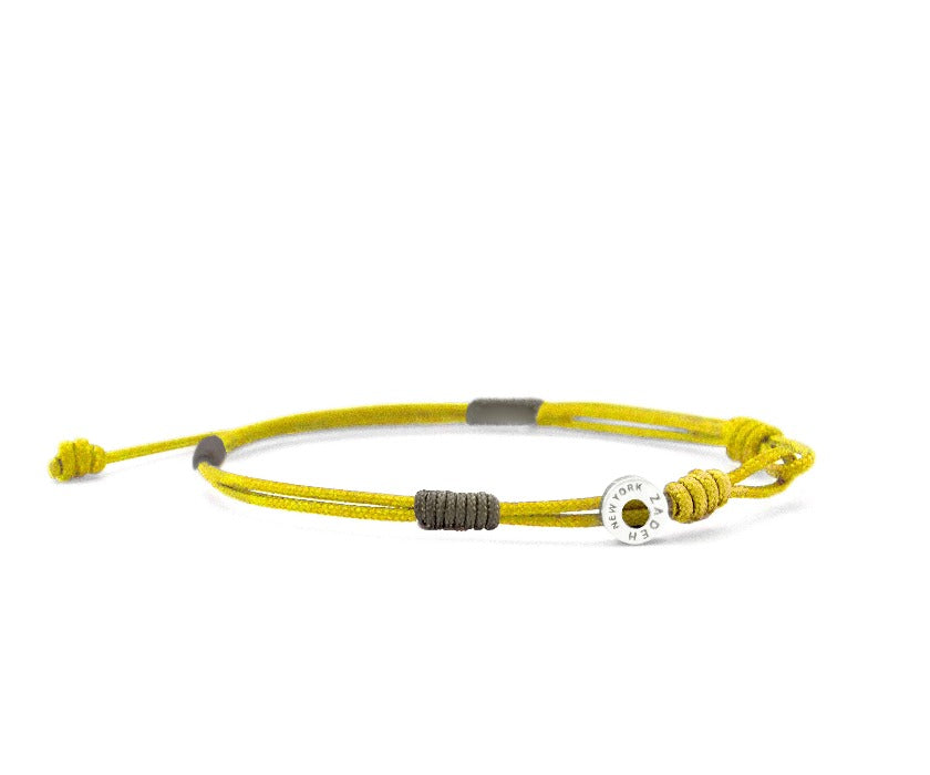 "Cayenne Bracelets Zadeh NY 5"" Yellow/Brown"
