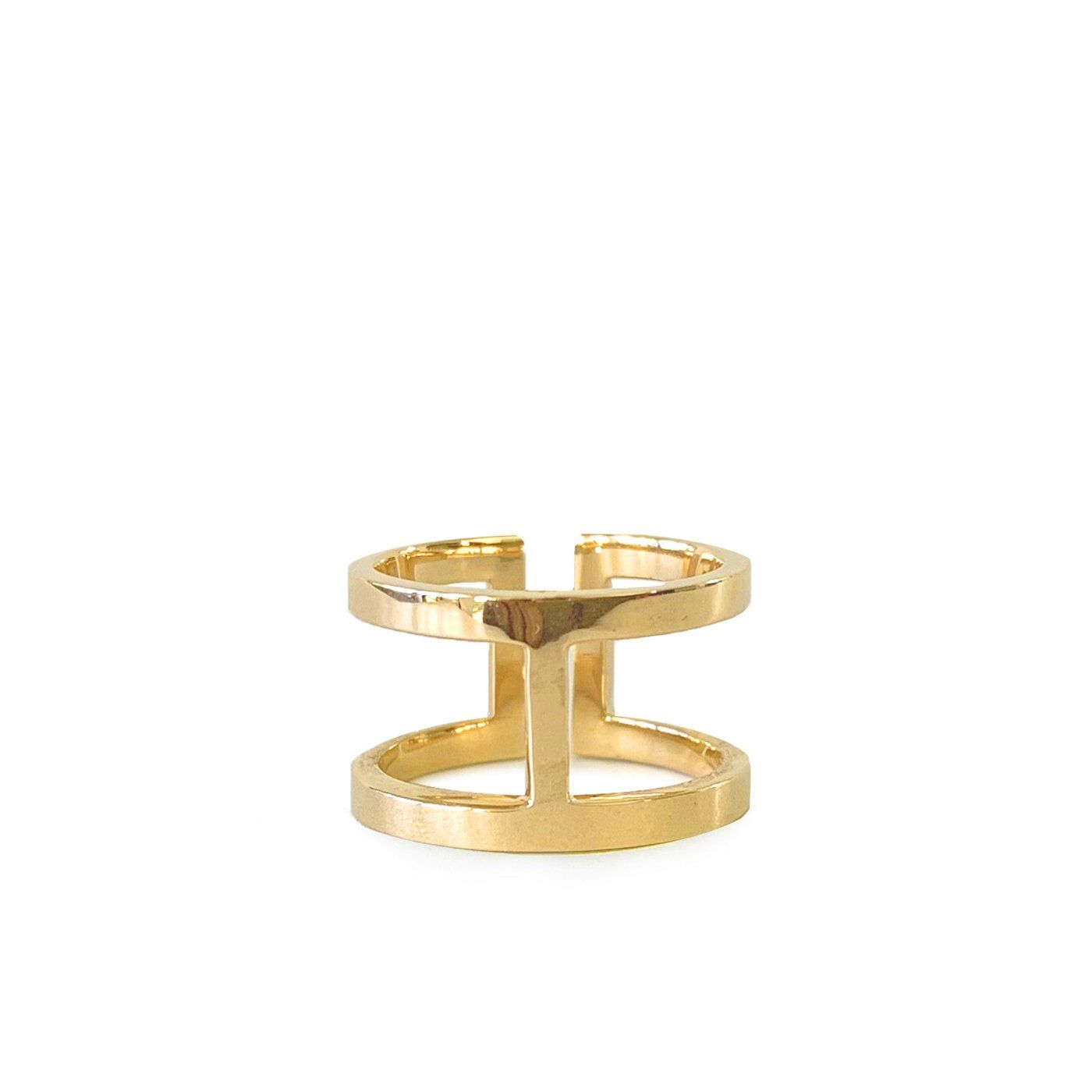 Celine ring yellow gold ZADEH NY